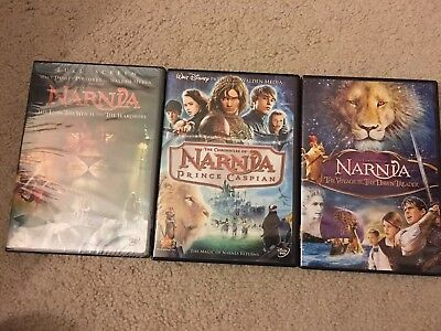 The Chronicles of Narnia DVD Trilogy 3 Movies Collection