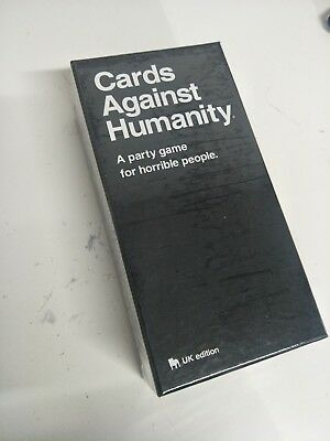 Cards Against Humanity UK V2.0 Latest Edition New Sealed 600 Cards New Toys HOT