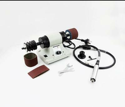 110V Leather edge Grinding Leather Polishing Burnishing machine + Handle