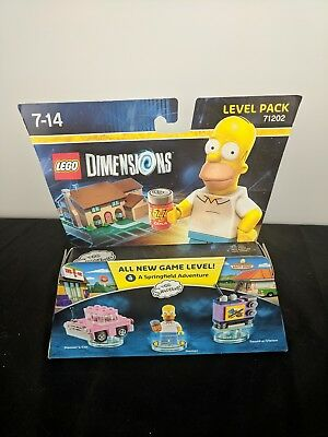 New LEGO Dimensions 71202 The Simpsons Homer Simpson Level Pack (All Formats)