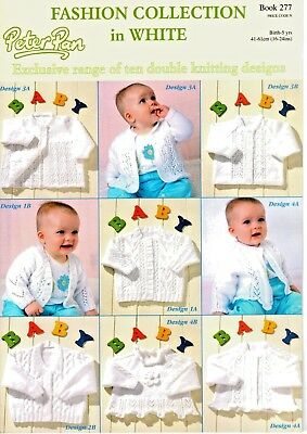 5765e20f3 PETER PAN BOYS Girls Baby Knitting Pattern Book FASHION COLLECTION ...