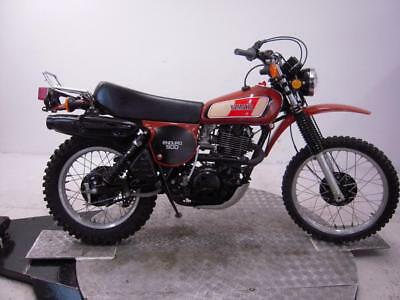 1977 Yamaha XT500D Unregistered US Import Barn Find Stunning Classic Enduro Bike