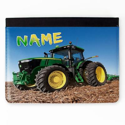Personalised iPad Cover FARM TRACTOR 2 3 4 5 6 Gen Air Mini Pro Case Gift ST753