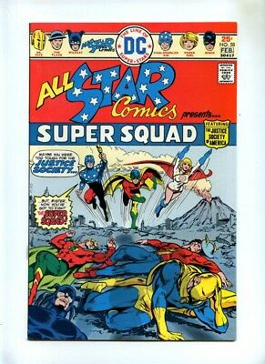 All-Star Comics #58 - DC 1976 - VFN- - 1st Power Girl - JSA Super Squad
