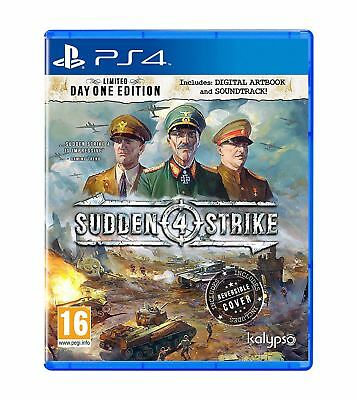 PlayStation 4 Sudden Strike 4 Limited Day One Edition PS4 Brand New Sealed