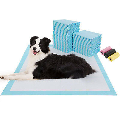 150 60X40 Cm Large Puppy Training Trainer Train Pads Toilet Pee Wee Mats Cat Dog