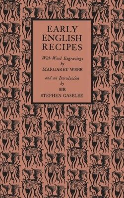 Early English Recipes (Paperback)