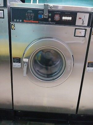 3 Load Speed queen commercial washer