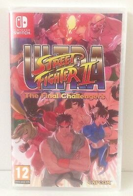 Nintendo Switch Ultra Street Fighter 2 The Final Challenge * NEW & SEALED PAL 2