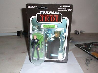 Star Wars ROTJ Luke Skywalker VC23 Jedi Knight Outfit Kenner 2010 New Excellent