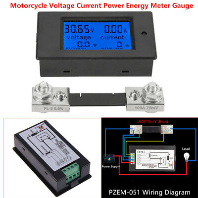 Omix Ada Voltmeter Wiring Diagram on