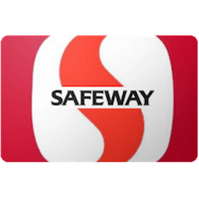 Safeway Gift Card $25 Value, Only $24.60! Free Shipping!