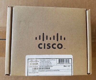 Cisco UCSC-SWRAID5=  Software RAID 5 Upgrade key for Embedded Raid - NEW!