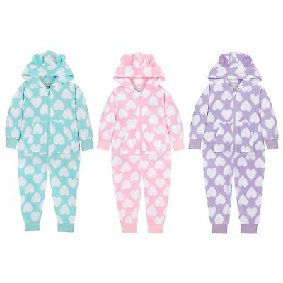 NEW Minikidz- Infant Girls and Older Girls Heart Print Robes Childrens Kids Gift