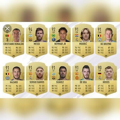 Fifa 19 XBOX ONE RANDOM 90+ Rated player
