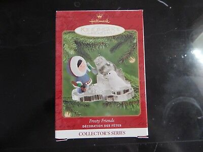 Hallmark 2000 Frosty Friends #21 Keepsake Ornament Handcrafted