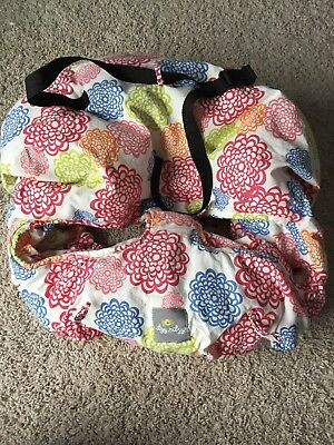 Itzy Ritzy multicolor Cotton Shopping Cart High Chair Cover Baby/Toddler