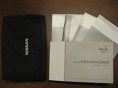 2013 nissan pathfinder owners manual