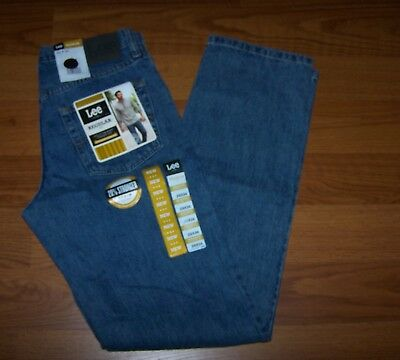 Size 29x34 Mens Regular Fit Straight Leg Lee Jeans
