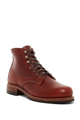 0a3ce78b2e8 WOLVERINE 1000 MILE Evans boot red leather Made in USA new in box msrp $395