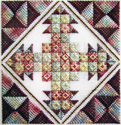 6x Needlepoint Pattern  Princeton/Beaded Mint/Rhapsody/Quilt Square/Garden-SD28