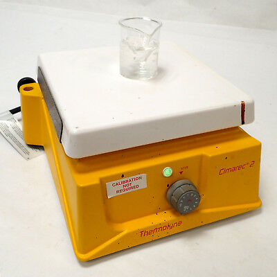 "Barnstead / Thermolyne Cimarec 2 S46725 Magnetic Stirrer 7"" Ceramic Top - Works!"