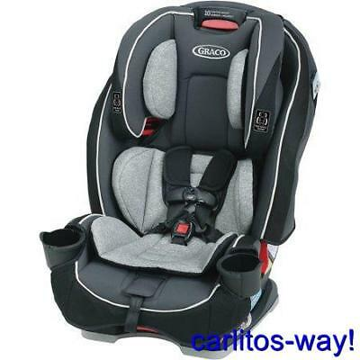 Graco SlimFit All-in-One Convertible Car Seat Darcie Fashion 3 in 1 NEW