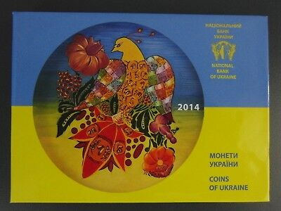 Ukraine - Kms - 2014  (Pp), Proof, Plastikfolder