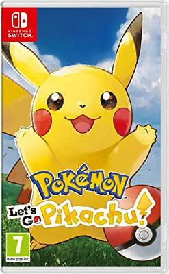 Pokemon Let's GO Pikachu! - Nintendo Switch (u3s)