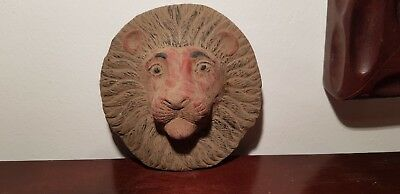 Rare Antique Ancient Egyptian Mask God Sekhmet Lion God War Hunting1920-1840BC