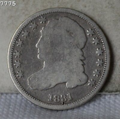 1831 Capped Bust Dime *Free S/H After 1st Item*