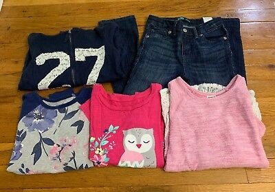 Lot Of Girls Clothes Size 6 Fall/Winter Pre Owned