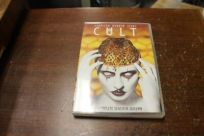American Horror Story:CULT The Complete Seventh Season 7(DVD,2018,3-Disc Set)