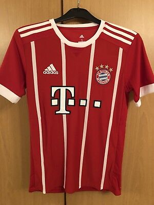 Adidas BAYERN MUNICH Home Shirt 2017 2018 size LARGE (L)