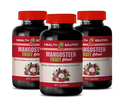 weight loss capsules - Mangosteen Fruit Extract 3B - multi minerals and vitamins