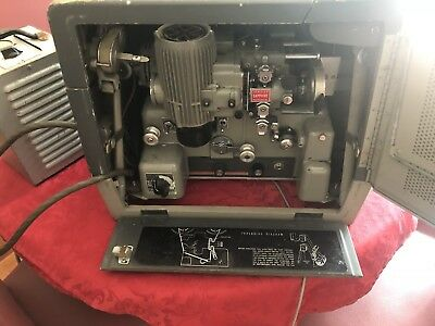 Bell And Howell 16mm Film Projectors With Accessories