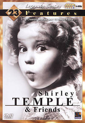 Shirley Temple and Friends (DVD, 2009, 4-Disc Set)  SEALED