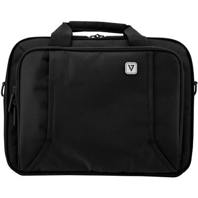 """Black for 13.3/"""" Laptop V7 Professional CCP13-BLK-9N Carrying Case Briefcase"""