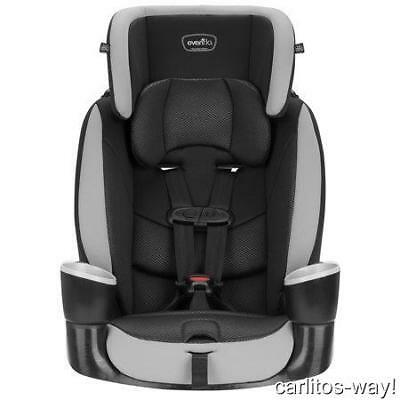 EVENFLO MAESTRO SPORT Harness Booster Car Seat  NEW GRANITE Cup Holders