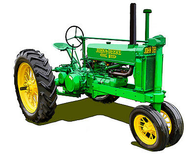 John Deere Model A Unstyled General Purpose canvas art print by Richard Browne