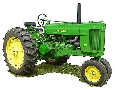 John Deere Model 70 canvas art print by Richard Browne