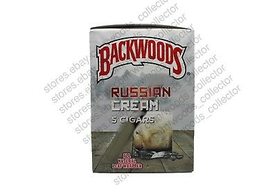 Rare Russian Cream Backwoods Single Pouch Of 5