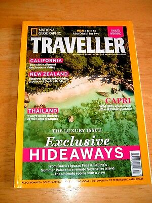 National Geographic Traveller Magazine July/Aug 2016 Issue.