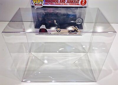 1 Box Protector For Funko Pop! ROADHOG AND JUNKRAT 2 Pack   Overwatch Exclusive
