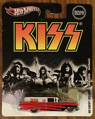 2012 Hot Wheels KISS '59 Chevy Delivery Pop Culture Nostalgia