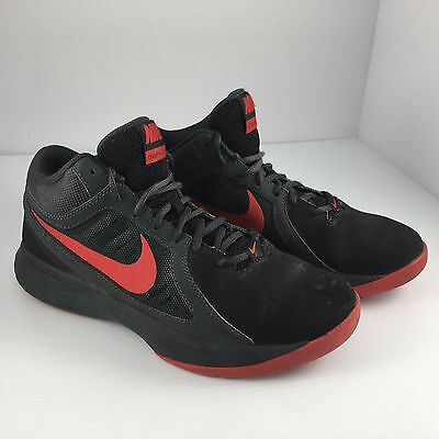 free shipping 917f3 c7b93 Mens Size 7 Nike Overplay VIII 8 Basketball Shoes Red   Black 643168-007