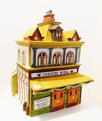 Dept.56  Dickens Village  Theater Royal  #55840   Retired  1992 -  Last One