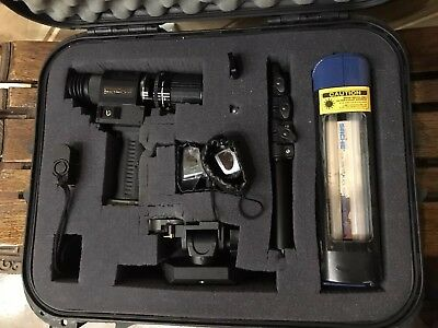 NICE Krimesite Image Direct Viewing Kit BY SIRCHIE WITH KSS100b 60mm UV Lens