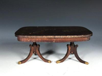 Vintage or Antique 1:12 Dollhouse Miniature Duncan Phyfe Style Dining Table