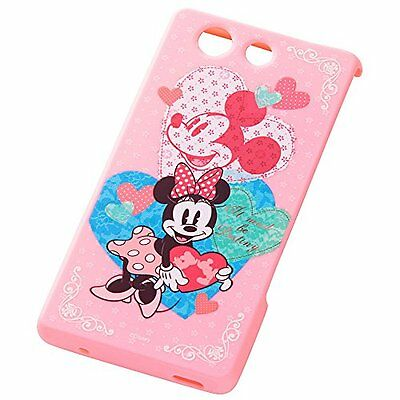 docomo Xperia Z3 Compact SO-02G shell jacket Minnie Destiny RT-DSO02GD / MD